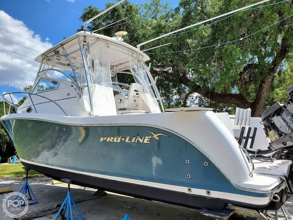 2007 Pro-Line boat for sale, model of the boat is 32 Express & Image # 2 of 40
