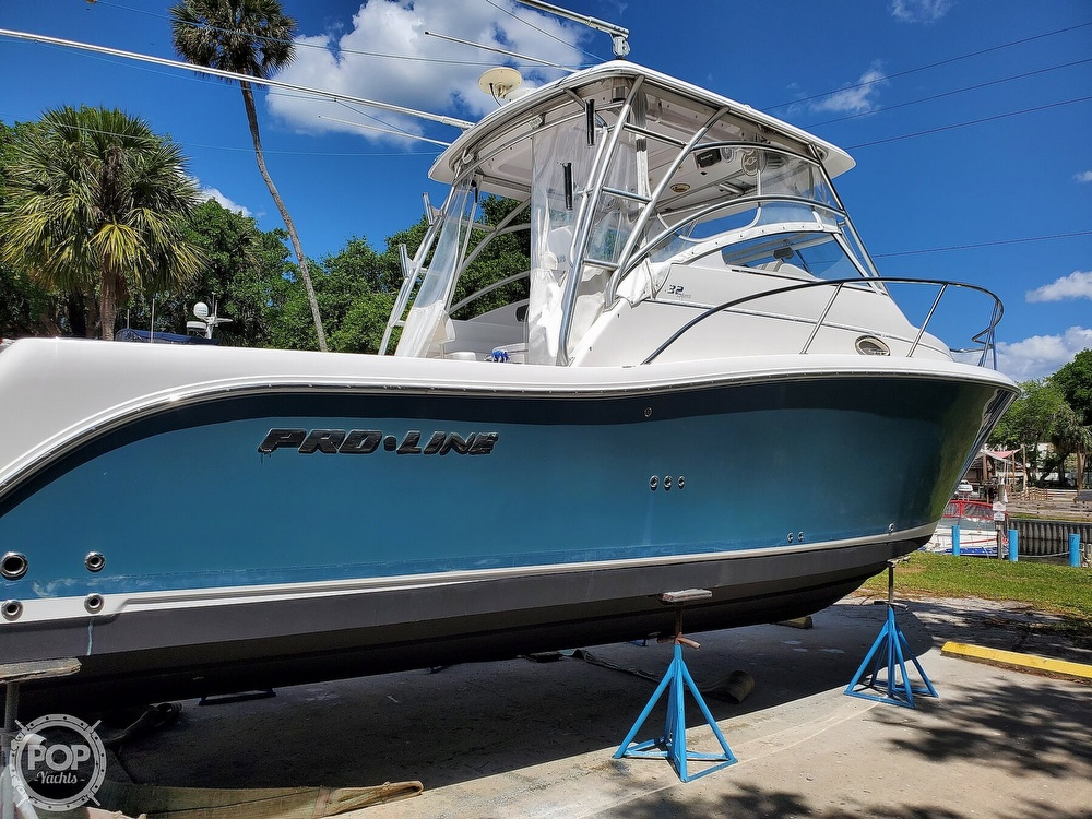 2007 Pro-Line boat for sale, model of the boat is 32 Express & Image # 20 of 40