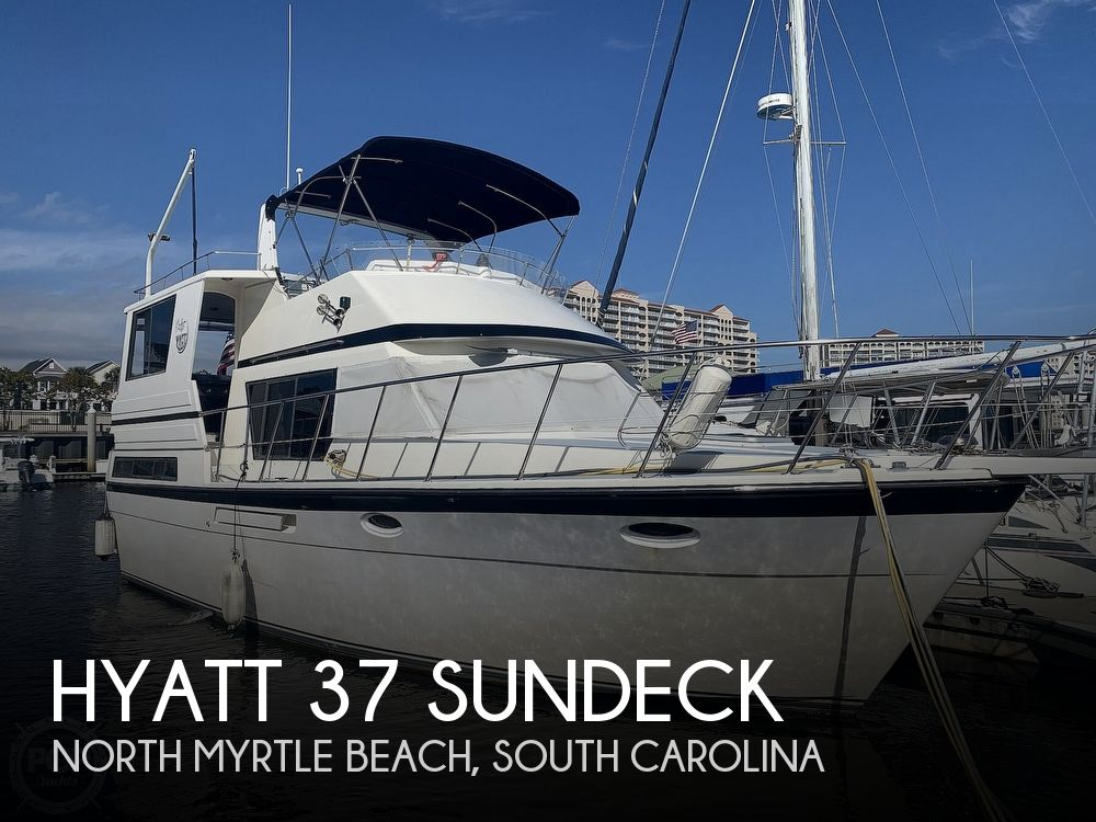 Used Hyatt Boats For Sale by owner | 1990 37 foot Hyatt Hyatt Sundeck Trawler