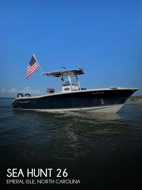 Used Sea Hunt Gamefish 26 Boats For Sale in North Carolina by owner | 2009 Sea Hunt Gamefish 26