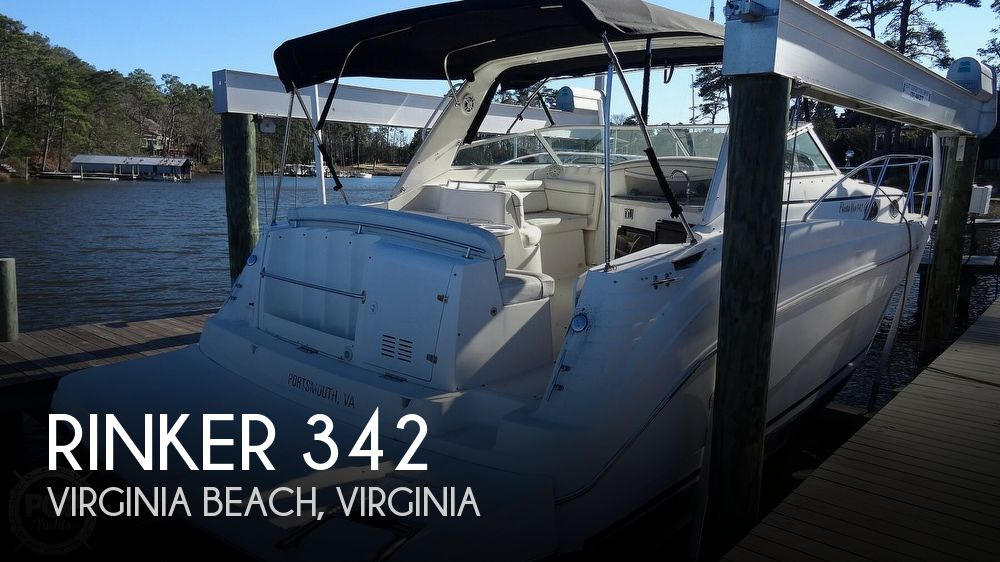 Used Rinker 342 Boats For Sale by owner | 2002 Rinker 342 Fiesta Vee