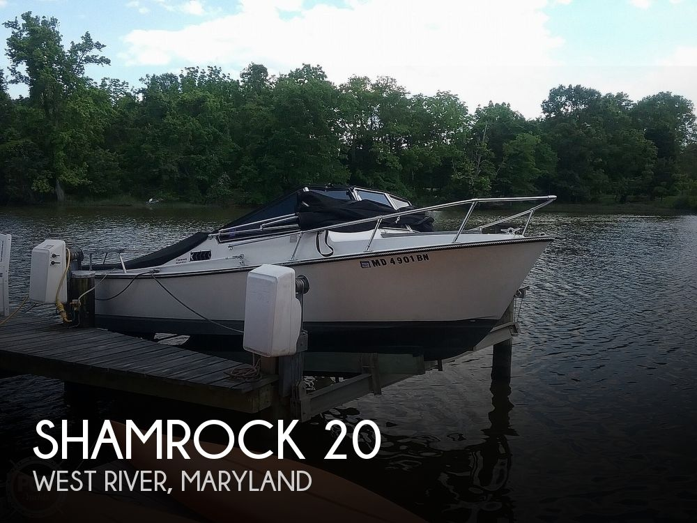 Used Shamrock Boats For Sale by owner | 1978 Shamrock 22 Walkthrough