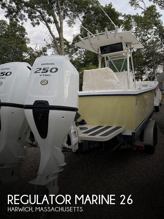Used 26 Boats For Sale by owner | 2000 Regulator Marine 26fs