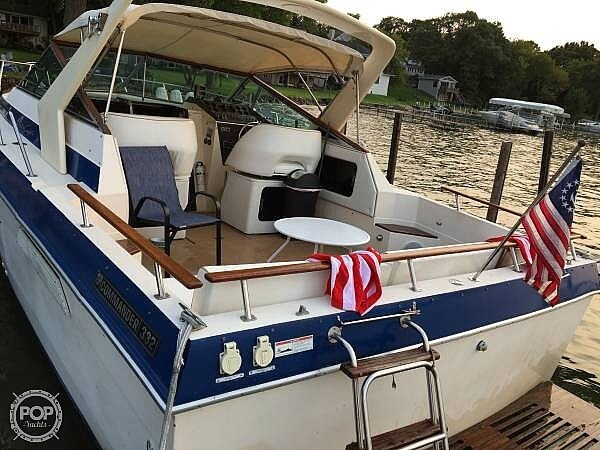 1983 Chris Craft boat for sale, model of the boat is 332 Commander & Image # 3 of 10