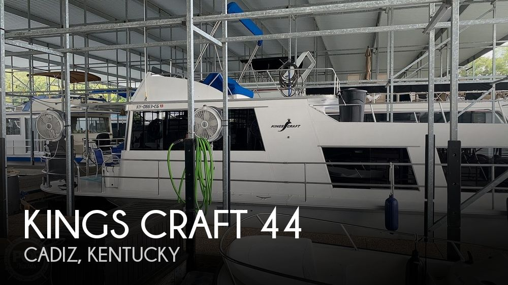 Used Boats For Sale in Nashville, Tennessee by owner | 1971 Kings Craft 44 Home Cruiser