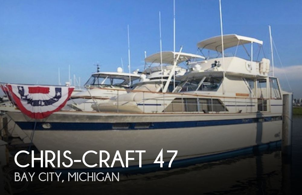 Used Boats For Sale in Saginaw, Michigan by owner | 1974 47 foot Chris-Craft Commander