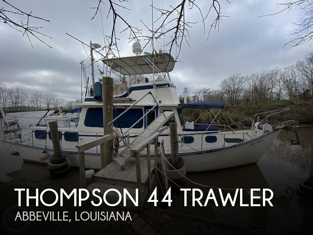 Used Thompson Boats For Sale by owner | 1976 Thompson 44