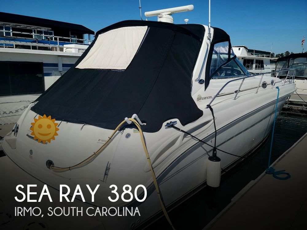 2003 Sea Ray boat for sale, model of the boat is 380 Sundancer & Image # 1 of 40