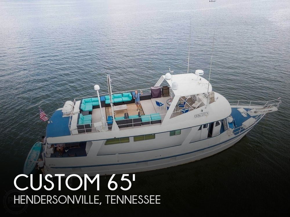 Used Custom Boats For Sale by owner | 1976 64 foot Custom Skipper Jones