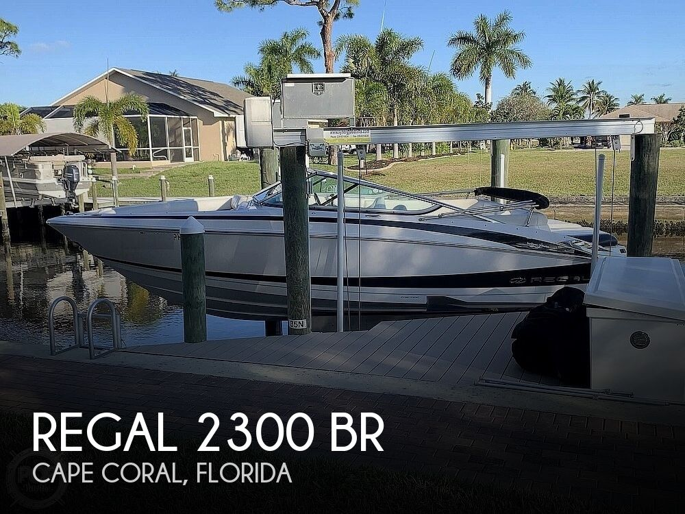 2012 Regal boat for sale, model of the boat is 2300 BR & Image # 1 of 40