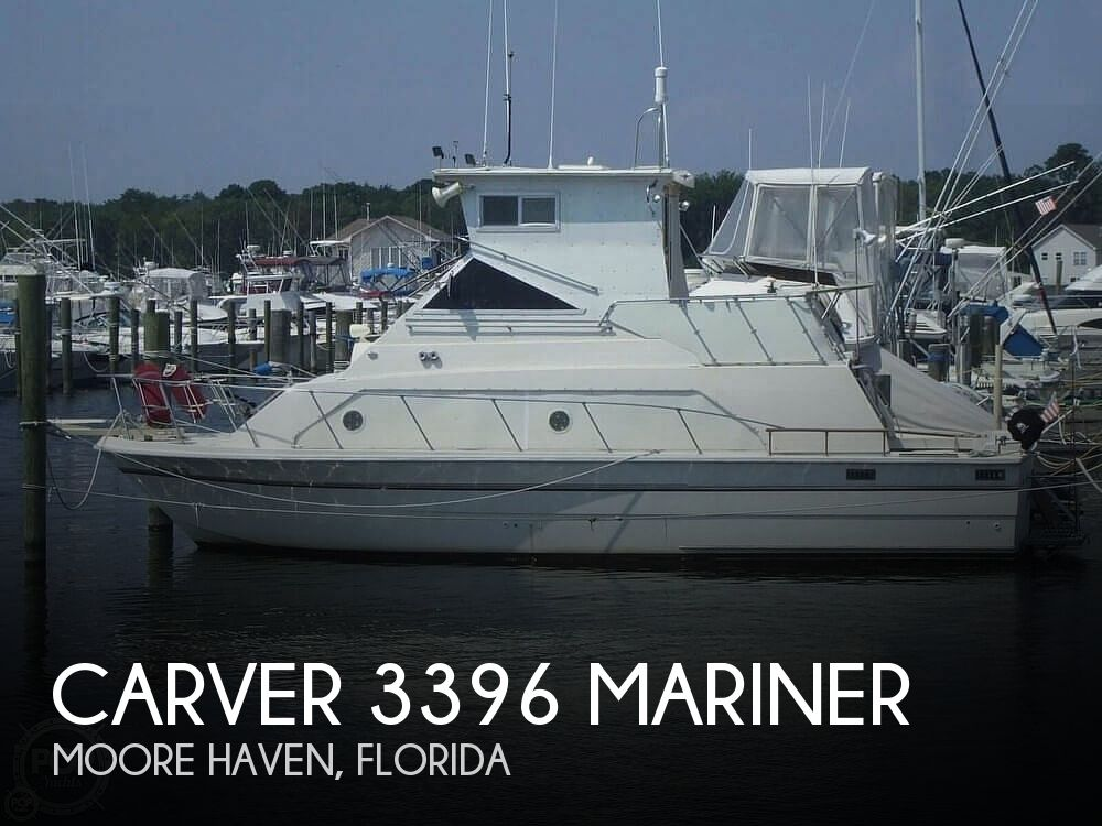 Used Carver Boats For Sale in Florida by owner | 1977 Carver 3396 Mariner