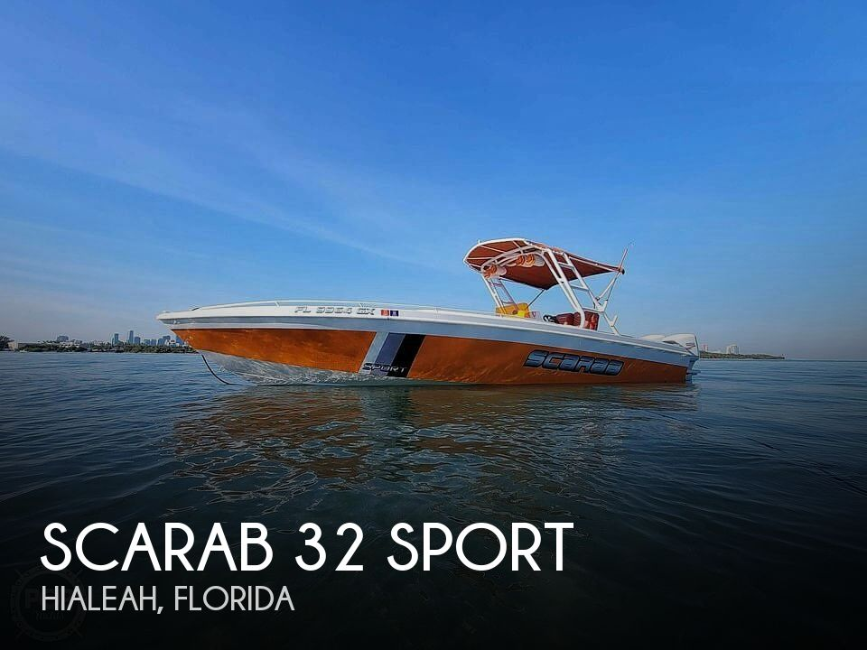 Used Scarab Boats For Sale by owner | 1990 Scarab 32 Sport