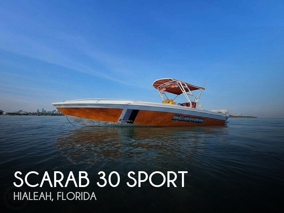 1990 Scarab boat for sale, model of the boat is 30 Sport & Image # 1 of 40