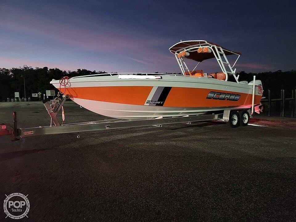 1990 Scarab boat for sale, model of the boat is 30 Sport & Image # 13 of 40