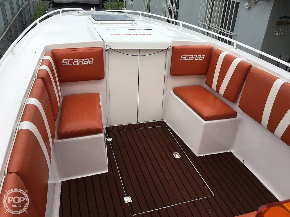 1990 Scarab boat for sale, model of the boat is 30 Sport & Image # 24 of 40