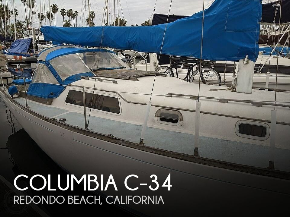 1967 Columbia boat for sale, model of the boat is C-34 & Image # 1 of 40