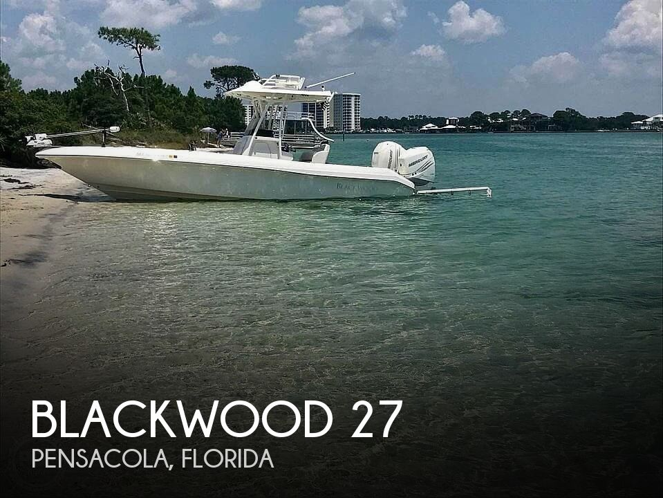 Used Boats For Sale in Pensacola, Florida by owner | 2017 Blackwood 27