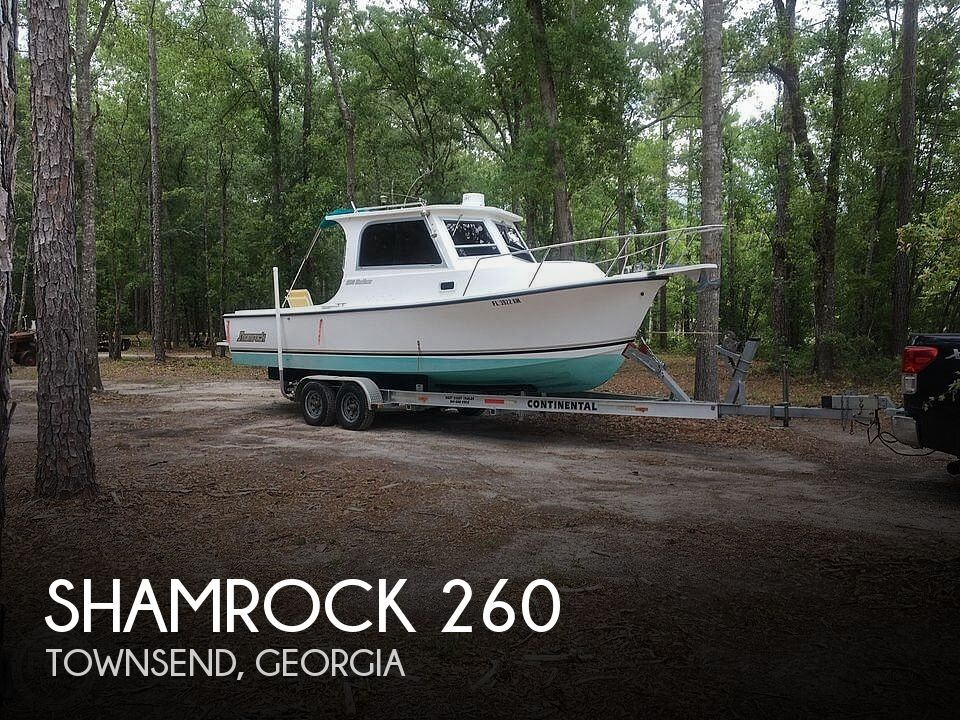 Used Shamrock Boats For Sale by owner | 1999 26 foot Shamrock Mackinaw