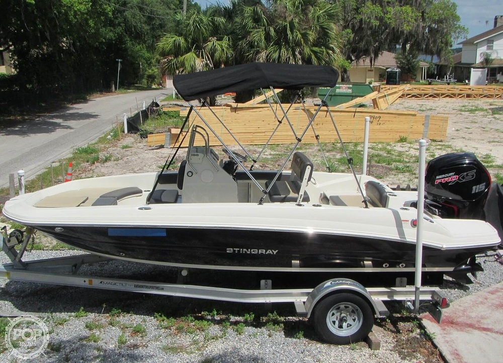2019 Stingray boat for sale, model of the boat is 186CC & Image # 14 of 40