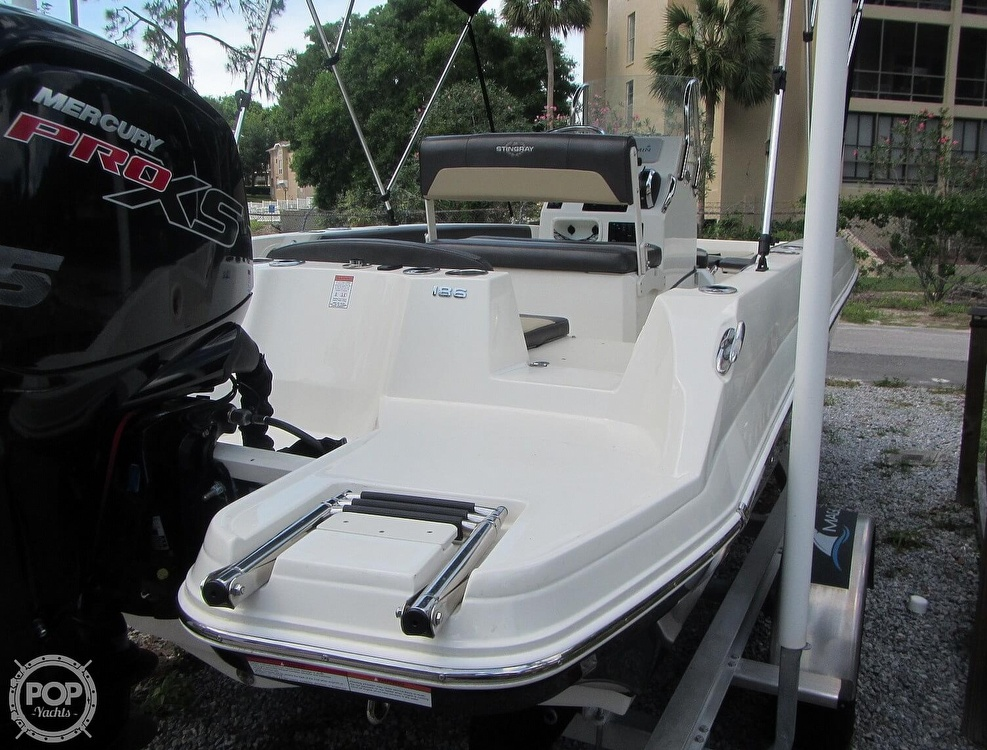2019 Stingray boat for sale, model of the boat is 186CC & Image # 24 of 40