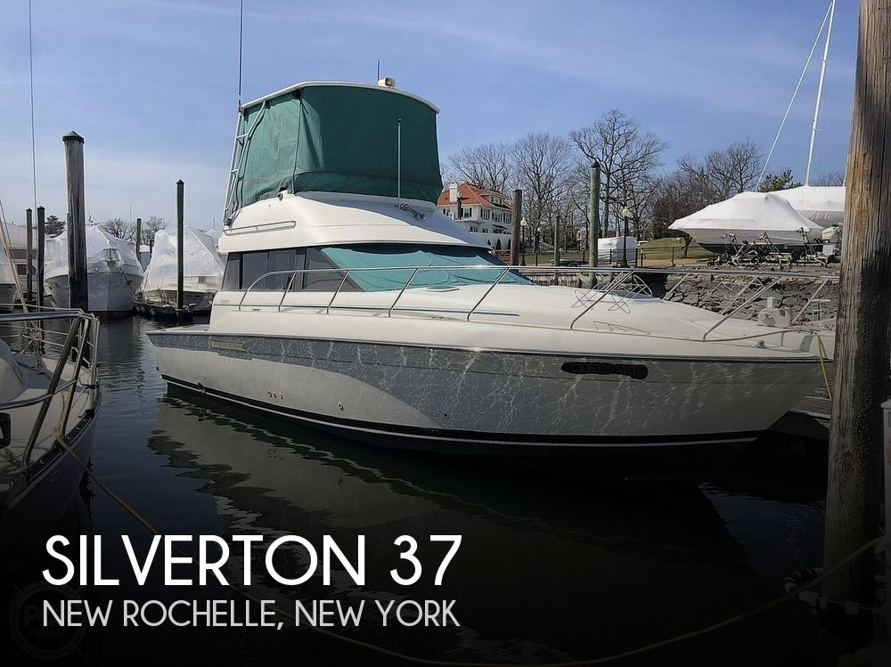 1993 Silverton boat for sale, model of the boat is 37 Convertible & Image # 1 of 40