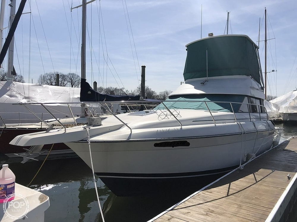 1993 Silverton boat for sale, model of the boat is 37 Convertible & Image # 2 of 40