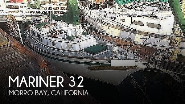 Used Boats For Sale in San Luis Obispo, California by owner | 1973 Mariner 32