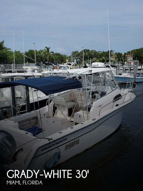 1999 Grady-White boat for sale, model of the boat is 300 Marlin & Image # 1 of 1
