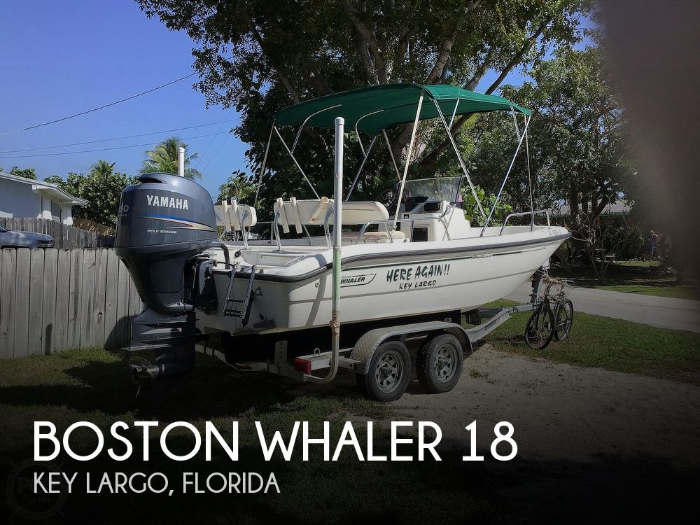 Used Boston Whaler Dauntless 18 Boats For Sale by owner | 1998 Boston Whaler Dauntless 18