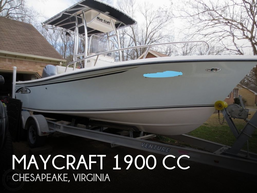 2009 MAY CRAFT 1900 for sale