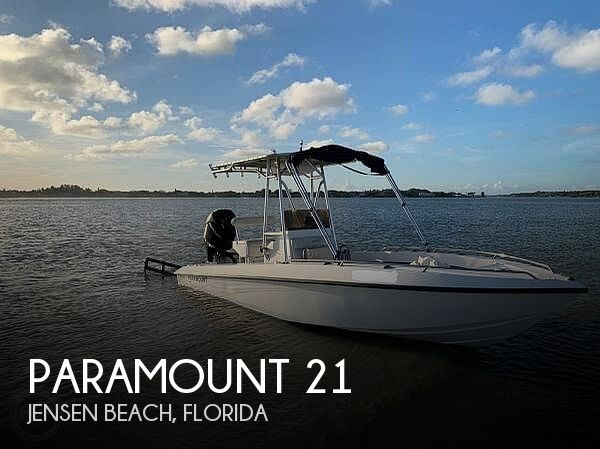 Used Paramount Boats For Sale by owner | 2004 Paramount 21'
