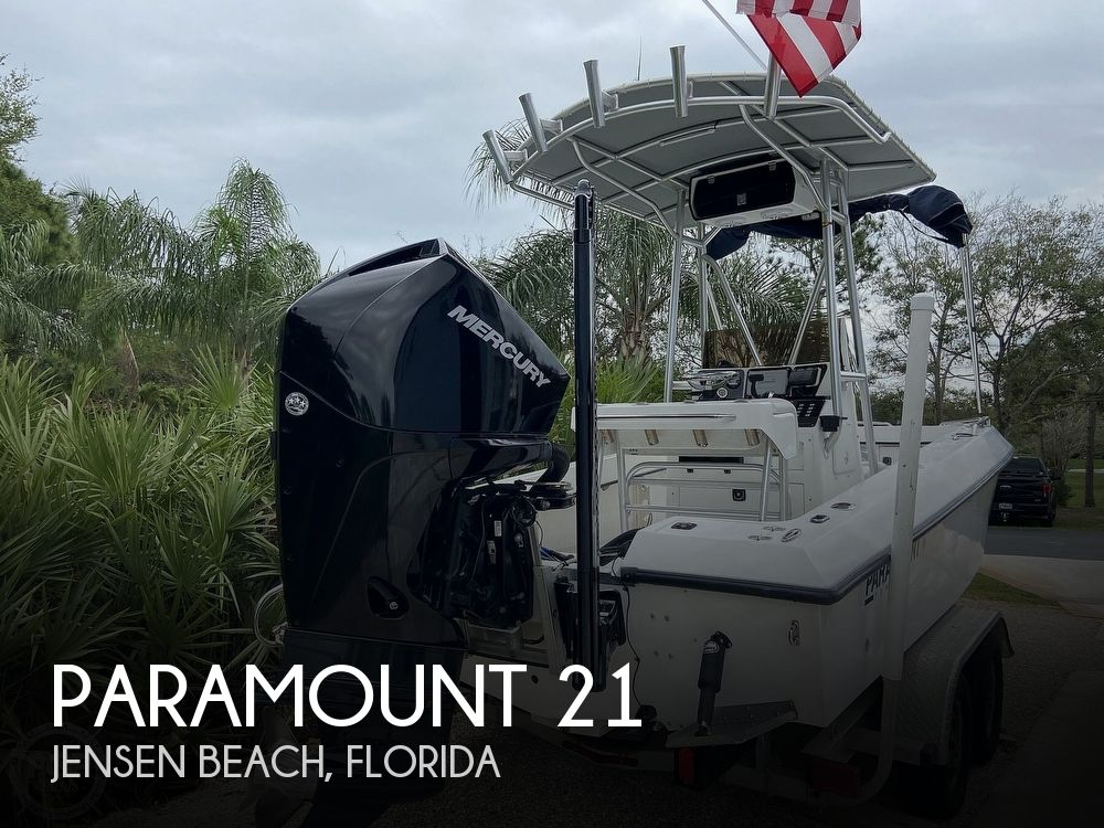 2004 Paramount boat for sale, model of the boat is 21 Super Fisherman & Image # 1 of 40