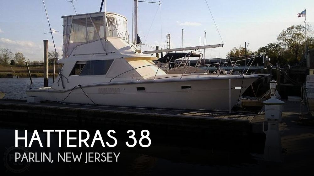 1969 Hatteras boat for sale, model of the boat is 38 Sport Fish & Image # 1 of 28