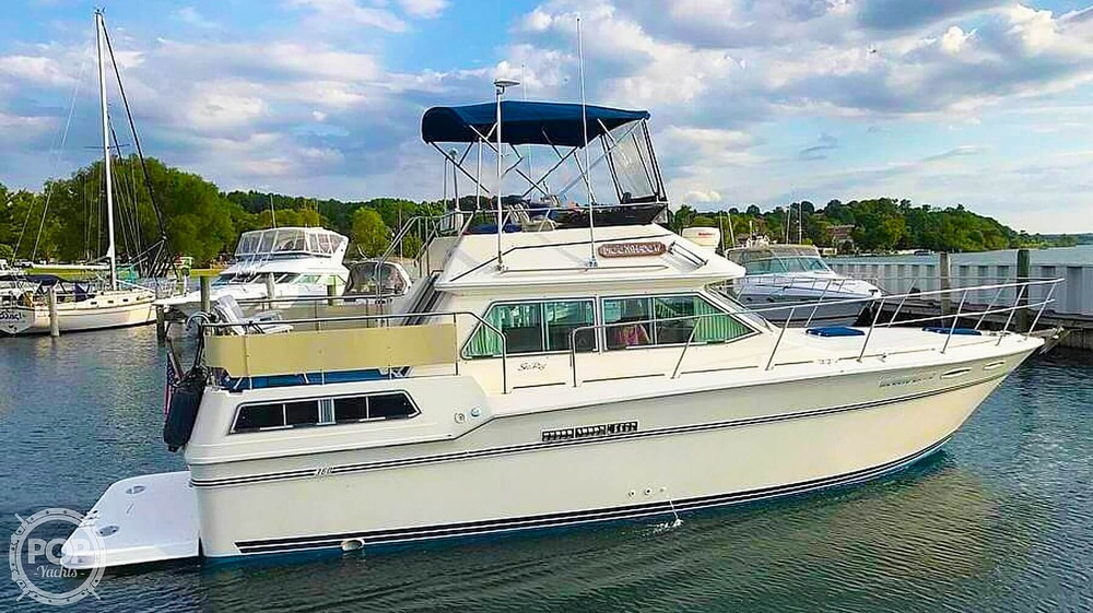1984 Sea Ray boat for sale, model of the boat is 360 Aft Cabin & Image # 2 of 22