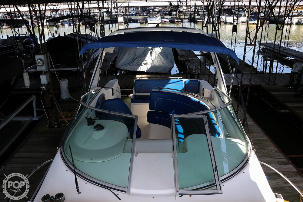 1999 Rinker boat for sale, model of the boat is Fiesta Vee 270 & Image # 23 of 40