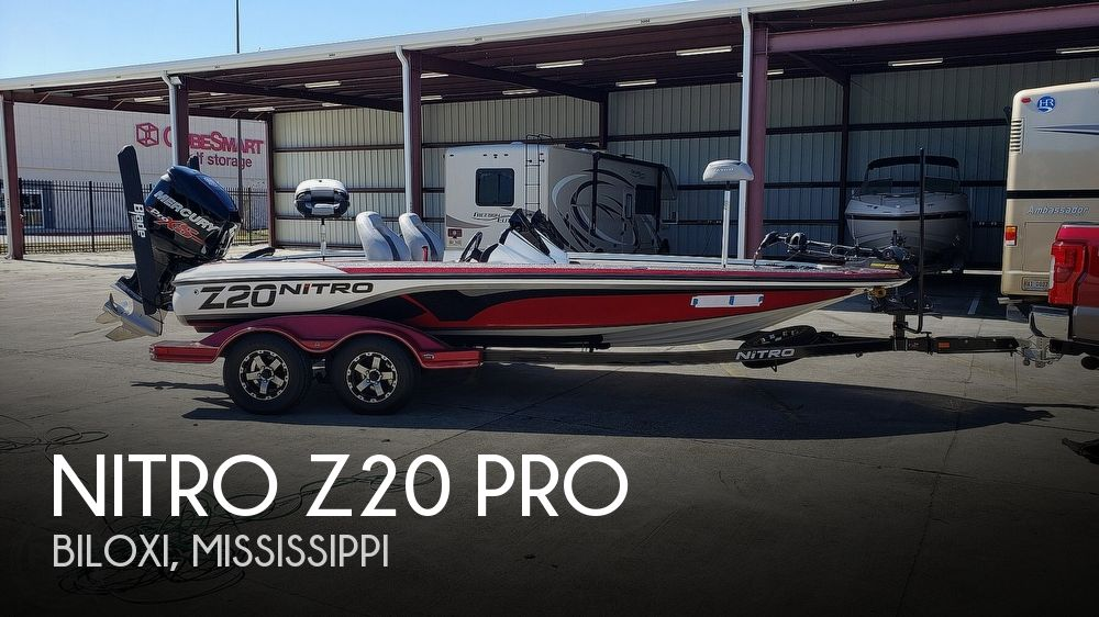 2016 Nitro boat for sale, model of the boat is Z20 Pro & Image # 1 of 40