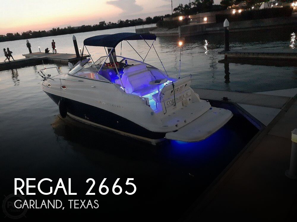 Used Regal 26 Boats For Sale by owner | 2004 Regal 2665