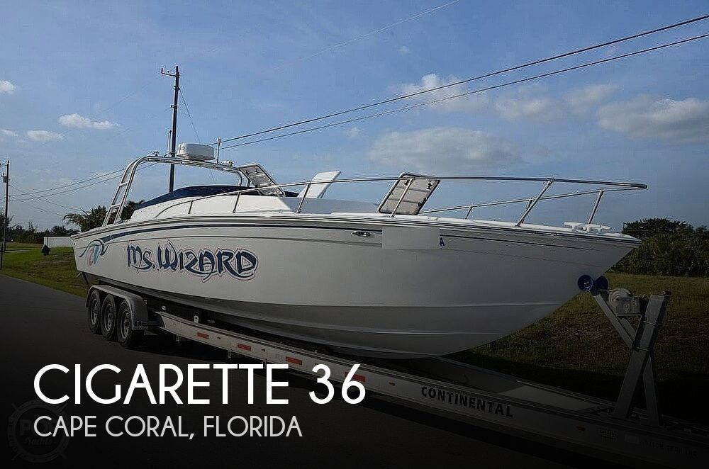1972 Cigarette boat for sale, model of the boat is 36 & Image # 1 of 40