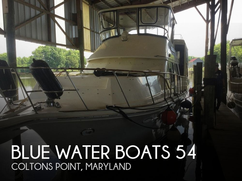 1988 Blue Water boat for sale, model of the boat is 54 MY & Image # 1 of 40