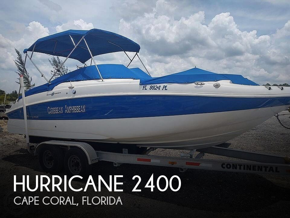 2013 Hurricane boat for sale, model of the boat is Sundeck 2400 & Image # 1 of 21
