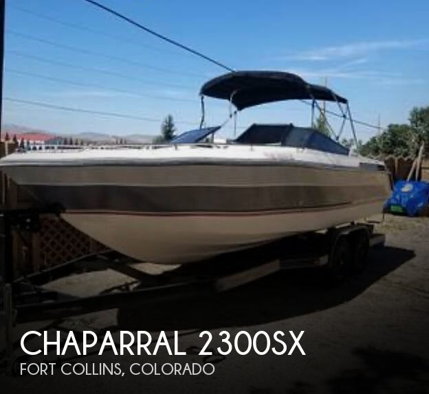 Used Boats For Sale in Cheyenne, Wyoming by owner | 1988 Chaparral 2300sx