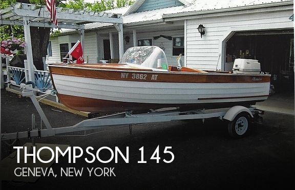 Used Thompson Boats For Sale by owner | 1958 Thompson 145