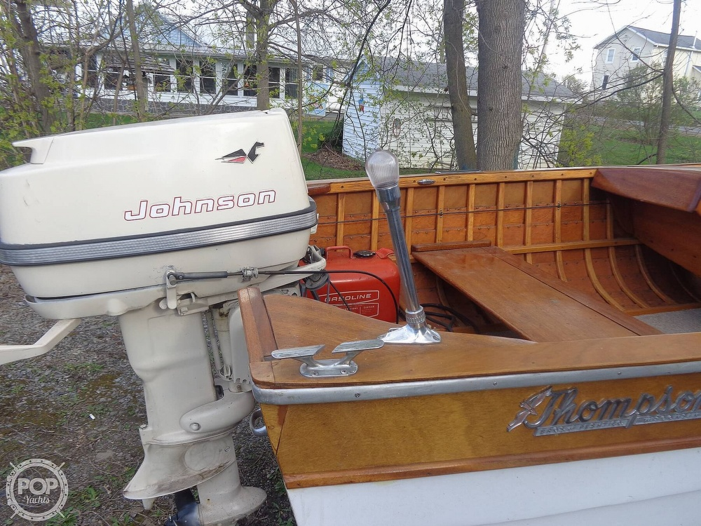 1958 Thompson boat for sale, model of the boat is 145 & Image # 11 of 34