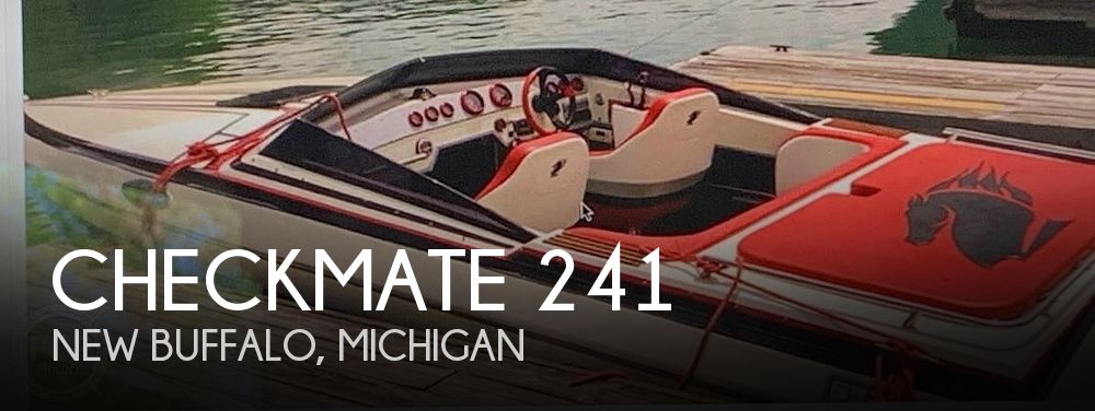 Used Checkmate Boats For Sale by owner | 1988 Checkmate 241 Gtx