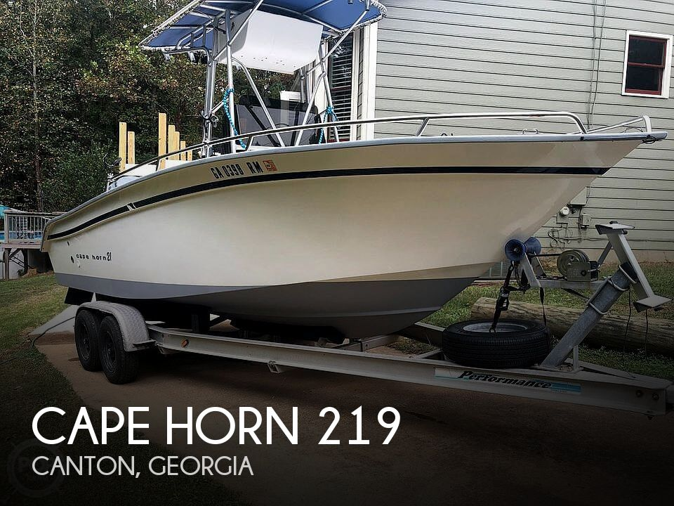 Used CAPE HORN Boats For Sale by owner | 2000 Cape Horn 219