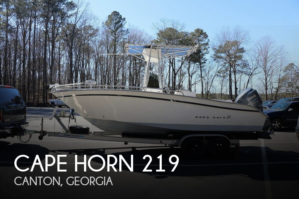 2000 Cape Horn boat for sale, model of the boat is 219 & Image # 1 of 40