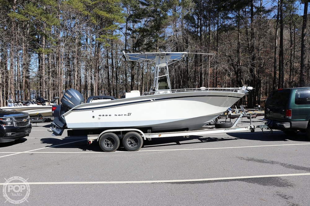 2000 Cape Horn boat for sale, model of the boat is 219 & Image # 23 of 40