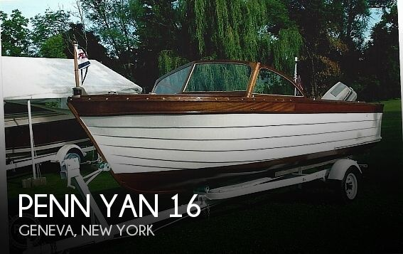 Used Penn yan Boats For Sale by owner | 1961 Penn Yan 16