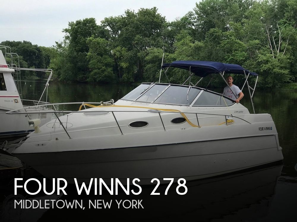 Used Four Winns Boats For Sale in New York by owner | 1997 Four Winns 278 Vista