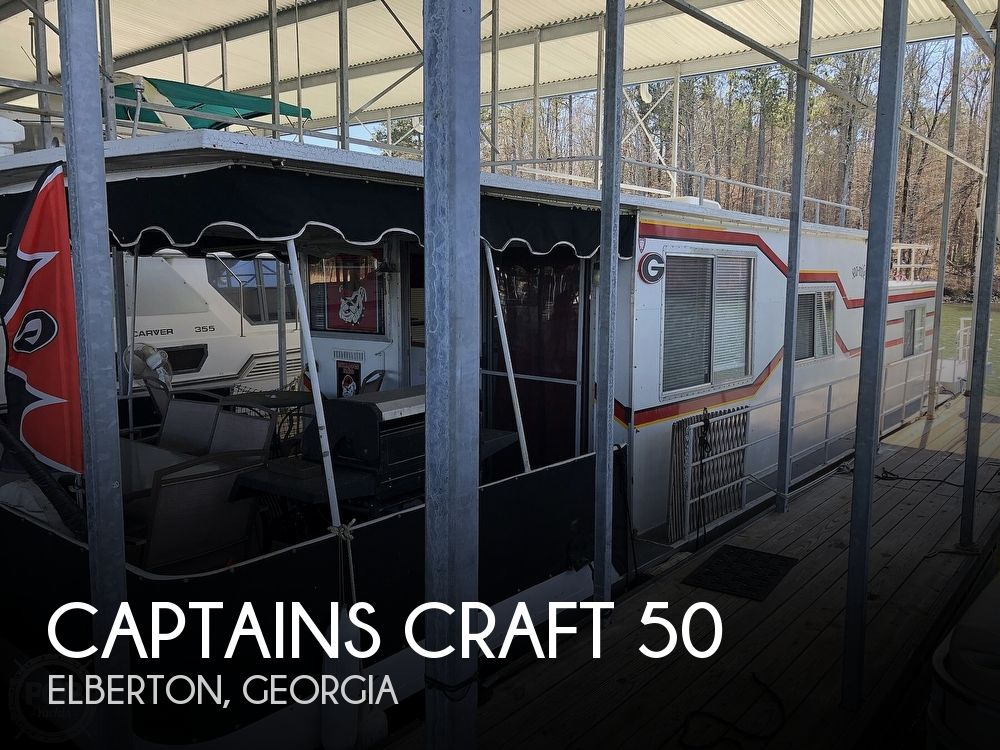 1980 Captains Craft boat for sale, model of the boat is 50 & Image # 1 of 40